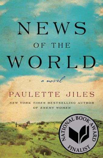 Book cover titled News of the World by Paulette Jiles