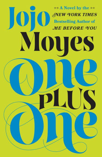 Book cover titled One Plus One by Jojo Moyes
