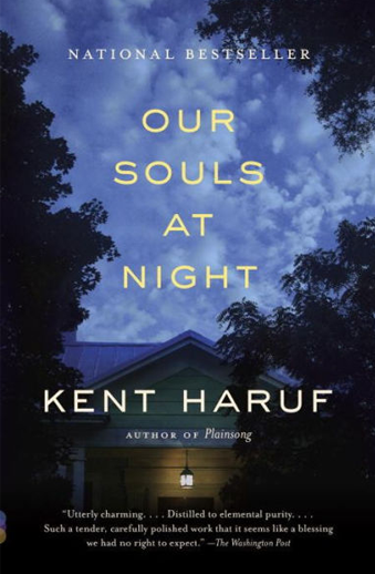 Book cover titled Our Souls at Night by Kent Haruf