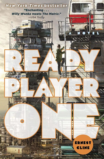 Book cover titled Ready Player One by Ernest Cline