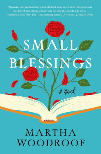 Book cover titled Small Blessings by Martha Woodroof