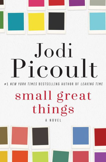Book cover titled Small Great Things: a novel by Jodi Picoult