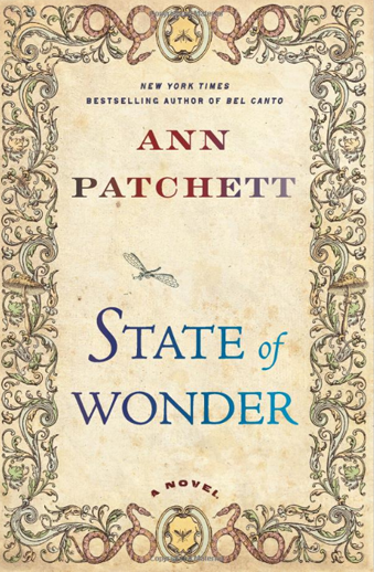Book cover titled State of Wonder by Ann Patchett