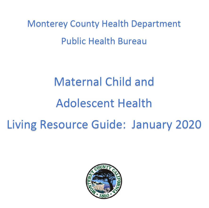 Maternal Child Adolescent Health Resource Guide 2020