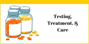 Testing, Treatment and Care