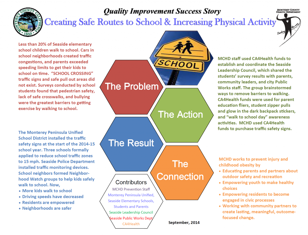 QI success story infographic
