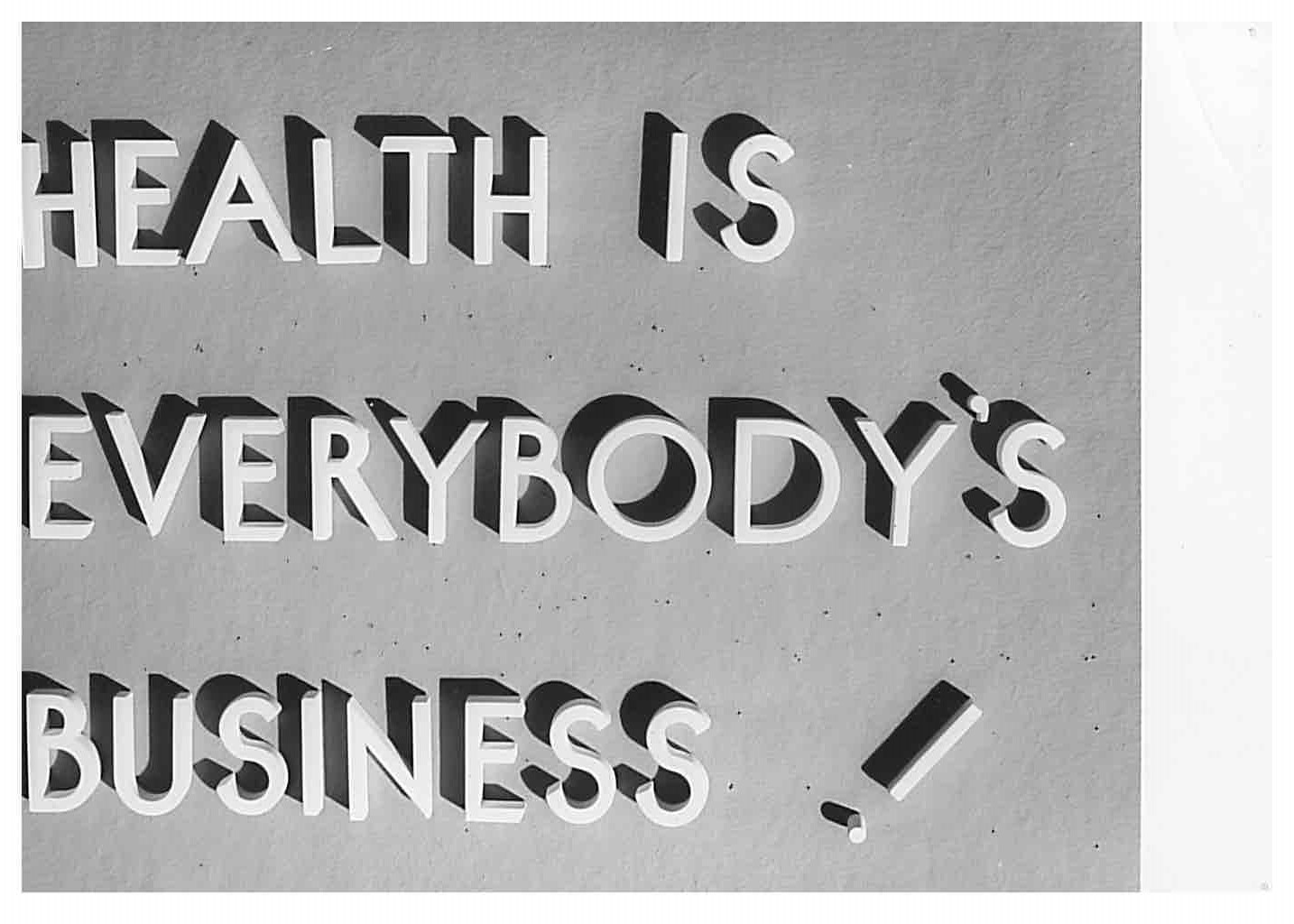 Health is everybodys business