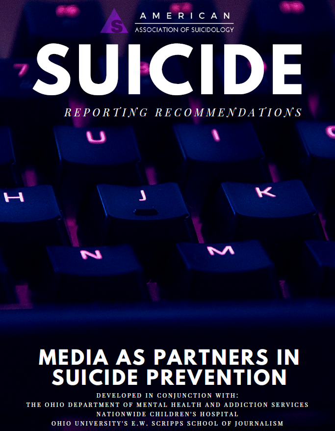 Cover reporting on Suicide 2018